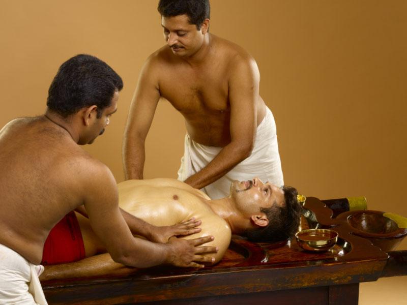 Abhyangam-treatment